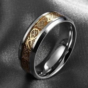 Other - Stainless steel dragon ring